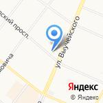 Росбанк на карте Архангельска