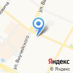 Киоск по продаже бытовой химии на карте Архангельска