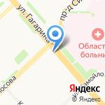 Люпин на карте Архангельска