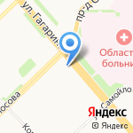 ЗАГС Приморского района на карте Архангельска