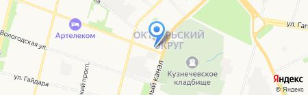 Ваш мастер на карте Архангельска