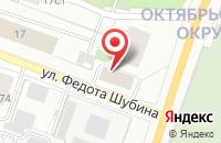 Схема проезда до компании Центр Материально-Технического Обеспечения в Архангельске