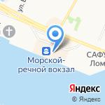 Времячко на карте Архангельска