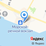 Веранда на карте Архангельска