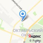 MARI и Я на карте Архангельска