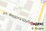 Схема проезда до компании Военторг-Запад в Архангельске