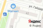 Схема проезда до компании Розалина в Архангельске