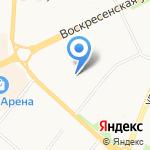 М-стиль на карте Архангельска