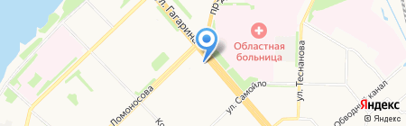 Домоуправление на карте Архангельска