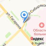 Магазин детской подростковой одежды на карте Архангельска