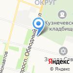 Сибтур-Вояж на карте Архангельска
