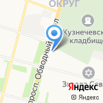 Бонсай на карте Архангельска