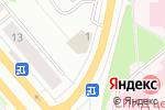Схема проезда до компании Фиалка в Архангельске