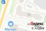 Схема проезда до компании Пункт почтовой связи в Архангельске