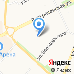 Евробытсервис на карте Архангельска