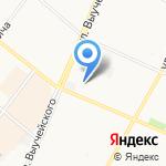 Средняя школа №9 на карте Архангельска