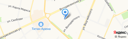 Cash & Carry на карте Архангельска