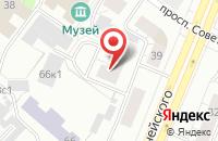 Схема проезда до компании Альянс Авто в Архангельске