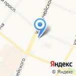 У Нади на карте Архангельска