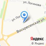 Норд Марин на карте Архангельска