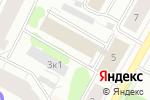 Схема проезда до компании Газ системс в Архангельске