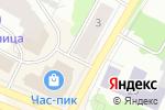 Схема проезда до компании Хлебница в Архангельске