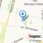 ABC на карте Архангельска