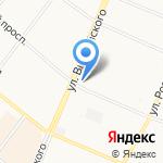 Магеллан на карте Архангельска