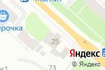 Схема проезда до компании Fresh24 в Архангельске