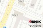 Схема проезда до компании Верона Гранит в Архангельске
