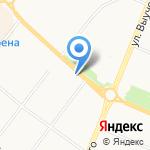Николь на карте Архангельска