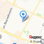 СевРечТорг на карте Архангельска