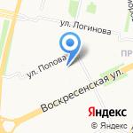 НАЙС на карте Архангельска