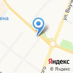 Двор на карте Архангельска