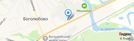 Бристоль на карте Боголюбово