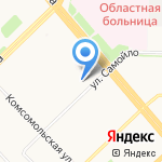 Александра на карте Архангельска