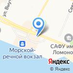 Кошелек на карте Архангельска