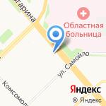 Управляющая компания №7 на карте Архангельска