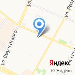 Флойд на карте Архангельска