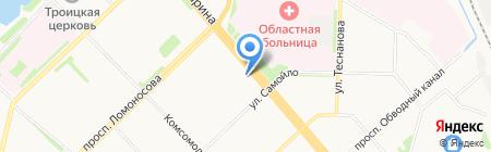 УК 8 Наш Дом на карте Архангельска
