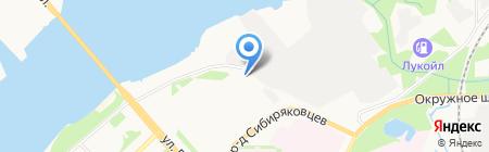 Гаро Архангельск на карте Архангельска