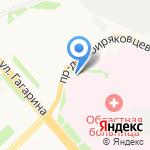 Архангельская станция переливания крови на карте Архангельска