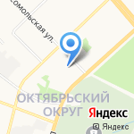 Медтехника сервис плюс на карте Архангельска