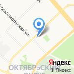 Семь на карте Архангельска