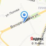 Надежда на карте Архангельска
