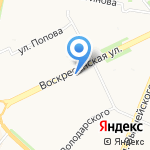 БРК Омега на карте Архангельска