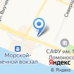 Институт экологических проблем Севера на карте Архангельска