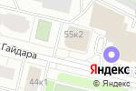 Схема проезда до компании АриКон и Ко в Архангельске