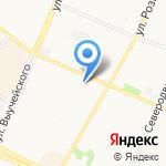 Пункт приема стеклотары на карте Архангельска