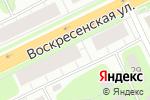 Схема проезда до компании БРК Омега в Архангельске